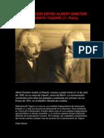 Conversacion Entre Albert Einstein y Rabindranath Tagore (1a Parte).