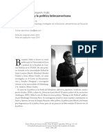 12.  Un diálogo con Bernjamin Arditi... (Entrevista). Alexander Amézquita
