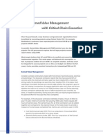 Integrating Earned Value Management With CC Execution