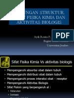 Hub. Struktur Sifat Fiskim Dan Aktivitas