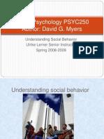 Social Psychology PSYC250