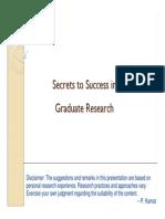 Graduate Res