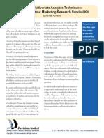 Www.decisionanalyst.com Downloads MultivariateAnalysisTechniques