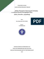 """Pengaruh Variabilitas Parameter Oseanografi Terhadap Penentuan Daerah Penangkapan Ikan"""" (Suhu, Klorofil-a, Upwelling)"""