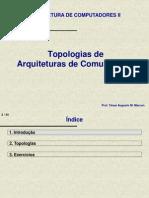 Topologias de Infra-Estrutura de Comunicacao