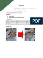 Informe de Emulsiones