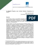 Arias Bucciarelli - La Patagonia Argentina Como Territorio Nacional