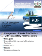 Snake Bite ICU Management