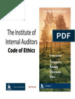 IIA Code of Ethics