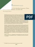Giorgio Agamben y Los Derechos Humanos
