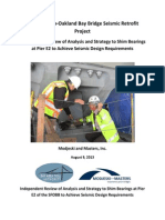 Report 8-9-13 - Oakland Bay Bridge Seismic Retrofit