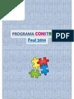 Programa Construye Feul 2014