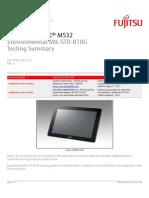 Fujitsu - Mil-std Report Stylistic m532