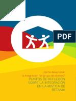 Puntos de Integración en la Mística Betania - PJLatinoamericana - CAPyM