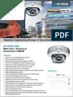 Avtron IR Varifocal Vandal Dome Camera AM-W5665-VMR1