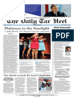 The Daily Tar Heel for November 22, 2013