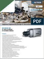 Avtron Box Mount IP Network Camera AM-WD608-NM-PDF