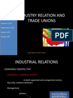 Industry Relation and Trade Unions