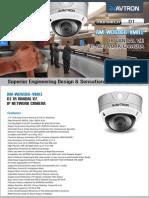Avtron IR Vandal Varifocal IP Network Dome Camera Am Wd6066 Vmr1 PDF