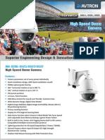 Os Series Avtron Speed dome Camera
