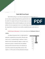 math project 1080