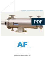 Bernoulli Type Filter Brochure]
