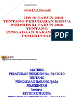 Matrik Perpres 70 Tahun 2012-1
