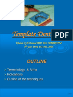Template Dentures