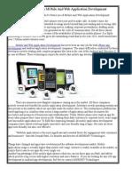 iMOBDEV Technologies Predict's Future Use of Mobile and Web Application Development