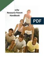 Resource Parent Handbook