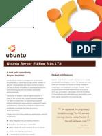 Ubuntu Server Edition 8.04 LTS