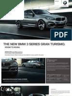 BMW 3 Series Grand Tourismo Flyer