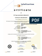 IC-M801GMDSS Certificate n° 06212504AA00