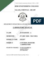 EE2257 Lab Manual