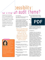 Web Accessibility - Is This an Audit Theme (IntoIT 15)