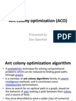 51667267 Ant Colony Optimization PPT