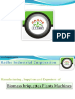 Biomass Briquetting Exporter and Suppliers India