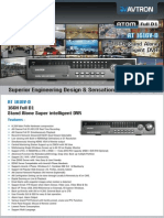 Avtron 16 Channel Stand alone Super intelligent DVR AT 1616V-D