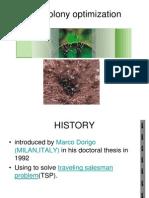 Ant Colony Optimization-1
