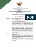 Peraturan Daerah Kabupaten Purbalingga Nomor 5 Tahun 2011 Tentang Rencana Tata Ruang Wilayah Kabupaten Purbalingga Tahun 2011 - 2031