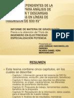 PRESENTACIÓN TESINA 500 kV