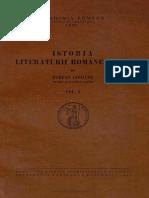Istoria Literaturii Romane Vechi Volumul I