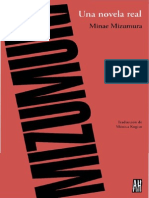 Minae Mizumura, Una Novela Real