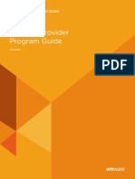 VMware Solution Provider Program Guide