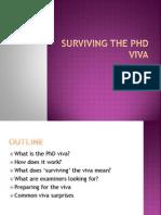 Surviving the Viva