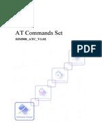 Sim900 at Commands