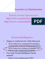 Swarm Intelligence PSO and ACO