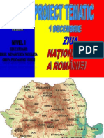 Proiect Tematic Ziua Romaniei. Nico