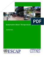 Sustainable Urban Transportation Systems