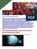 Noticias Uruguayas Viernes 22 de Noviembre Del 2013